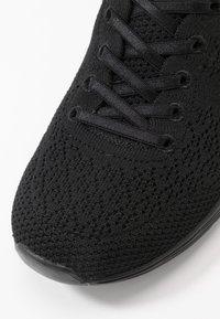 Skechers - SEAGER - Sneakers laag - black - 2