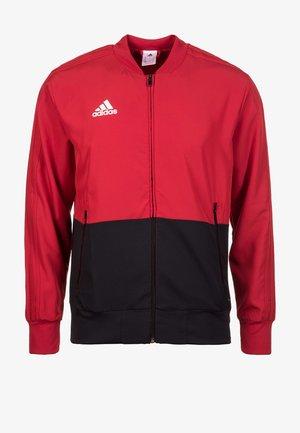 CONDIVO 18 PRESENTATION TRACK TOP - Training jacket - red/black/white