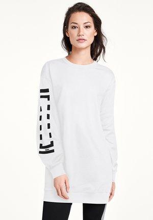 Robe d'été - white/black