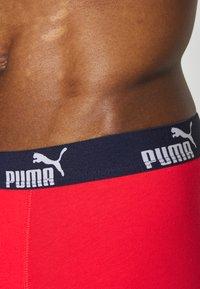 Puma - MEN PROMO BOXER 4 PACK - Culotte - red/blue - 4