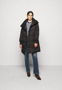 Lauren Ralph Lauren - MATTE FINISH COAT  - Down coat - black - 1