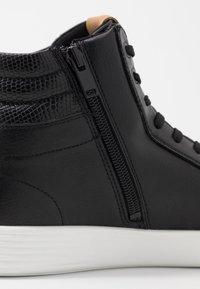 ALDO - GLENADIEN - Sneaker high - black - 5