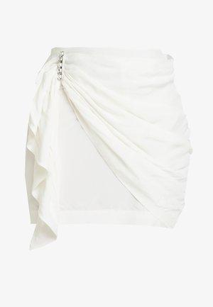 JAZZLYN SKIRT - Miniskjørt - white moire
