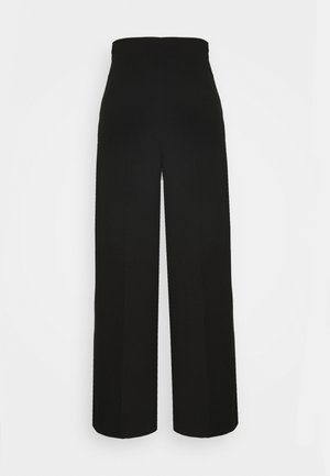 JULIA TROUSER - Stoffhose - black
