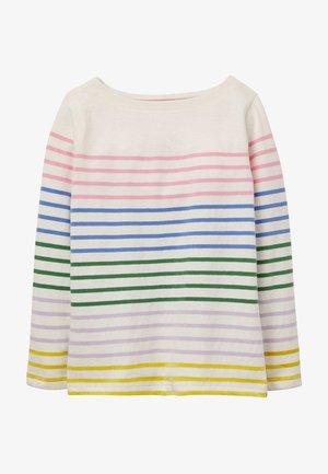 Long sleeved top - bunt/regenbogen, gestreift