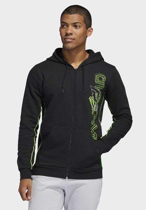 DAME STAR WARS AUREBESH HOODIE - Zip-up hoodie - black
