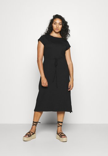 CARAPRIL LIFE STRING DRESS - Jersey dress - black