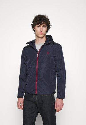 BELPORT HOODED - Summer jacket - collection navy