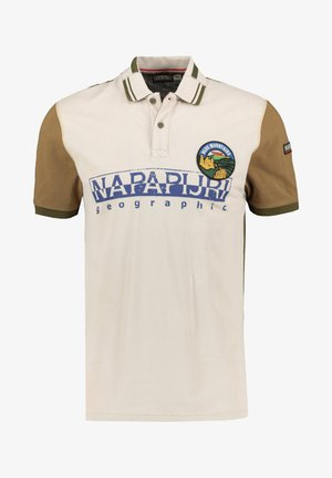 EISHOP - Polo shirt - beige/olive