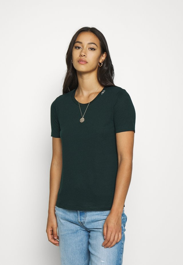 BASIC CREW NECK TEE - T-shirt basic - lagoon green