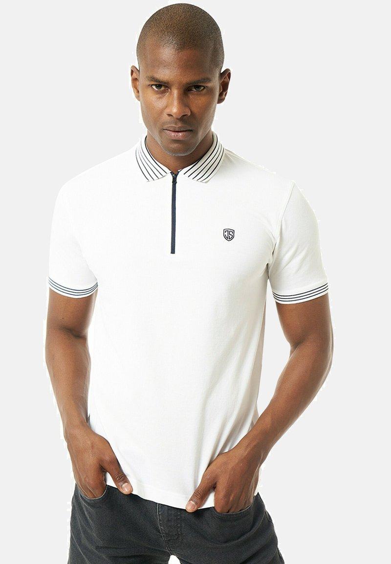 Jimmy Sanders - Polo shirt - weiãŸ