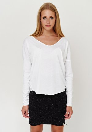 NOELLE - Long sleeved top - misty grey