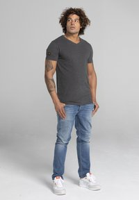Liger - LIMITED TO 360 PIECES - Basic T-shirt - dark heather grey melange - 1
