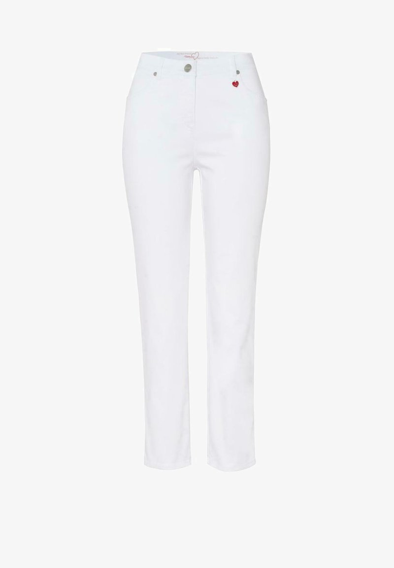 relaxed by TONI - Slim fit jeans - white denim