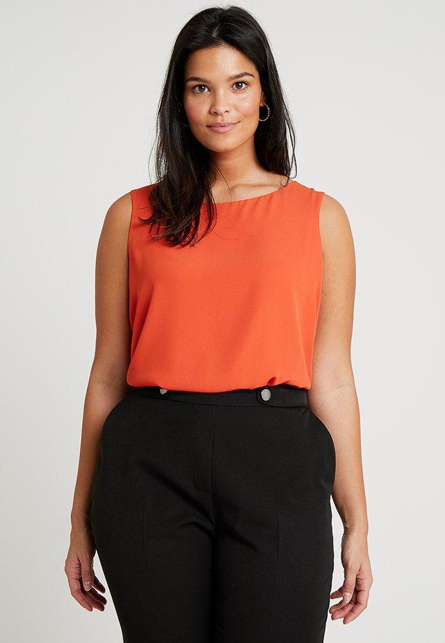 Blouse - 205 - orange