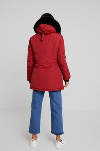 Superdry - ASHLEY EVEREST - Vinterkåpe / -frakk - brick red - 2