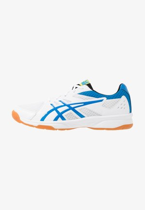 UPCOURT 3 - Multicourt tennis shoes - white/electric blue