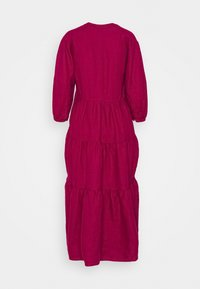 Marks & Spencer London - TIERED DRESS - Maxi dress - berry - 1