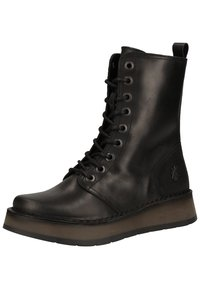 Fly London - Platform ankle boots - black - 2