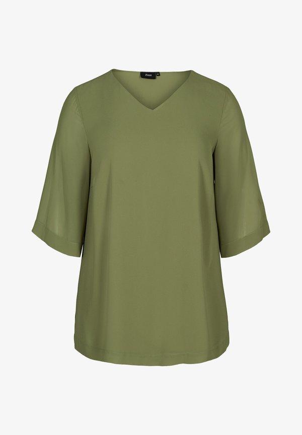 Zizzi Bluzka - green/zielony OUKT