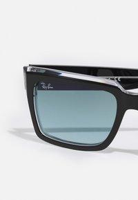 Ray-Ban - UNISEX - Sluneční brýle - black/transparent - 4