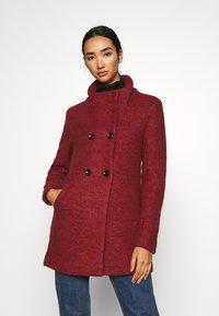 ONLY - SOPHIA - Zimní kabát - fired brick/melange - 0