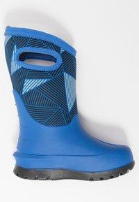 Bogs - CLASSIC BIG GEO - Winter boots - blue/multicolor - 1