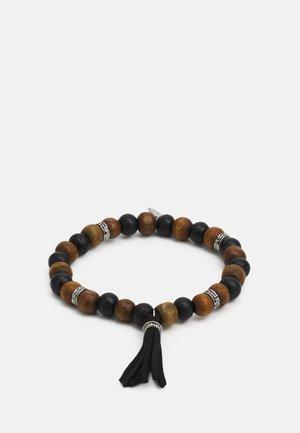 BRACELET WITH TASSEL - Rannekoru - brown