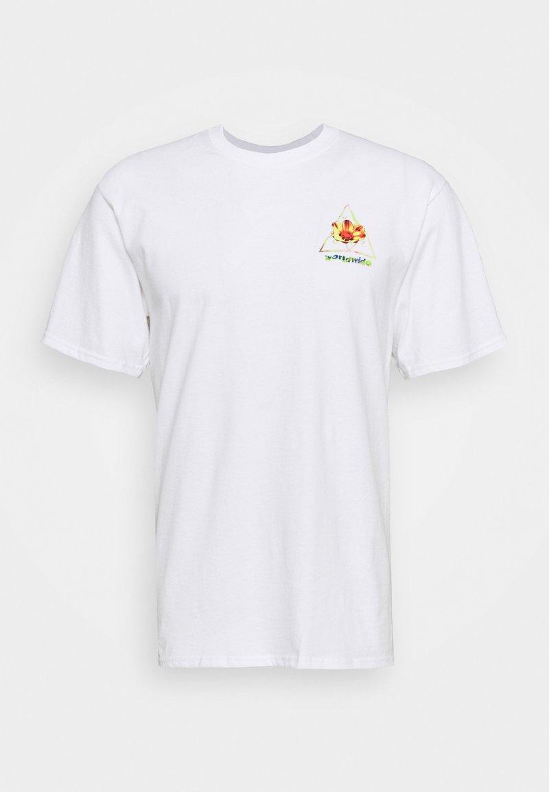 HUF COME DOWN TEE - T-Shirt print - french navy/dunkelblau EpTb9T