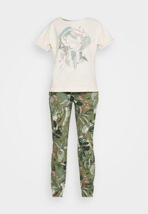 Piżama - sage green