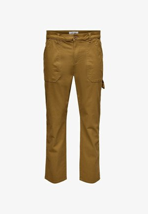 WORKWEAR - Cargo trousers - rubber