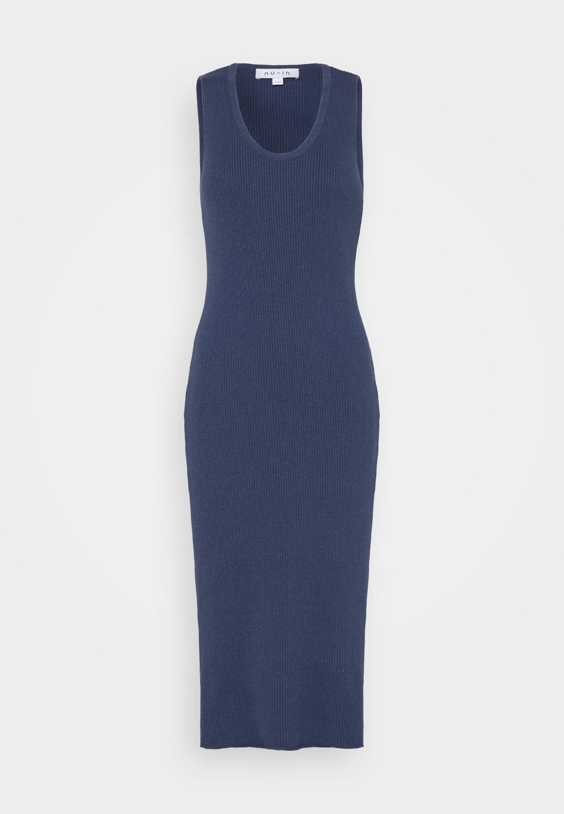 Women SLEEVELESS MIDI DRESS - Jumper dress