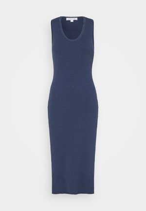 SLEEVELESS MIDI DRESS - Jumper dress - navy