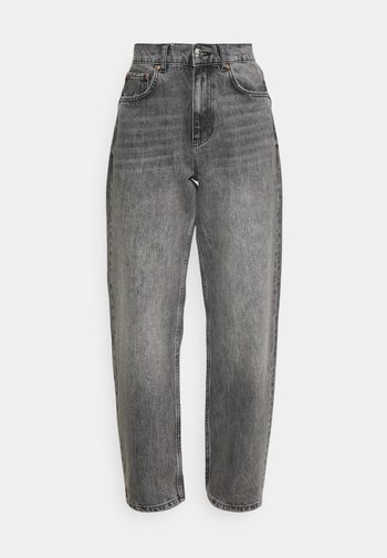 90S HIGH WAIST - Jeans relaxed fit - washed grey