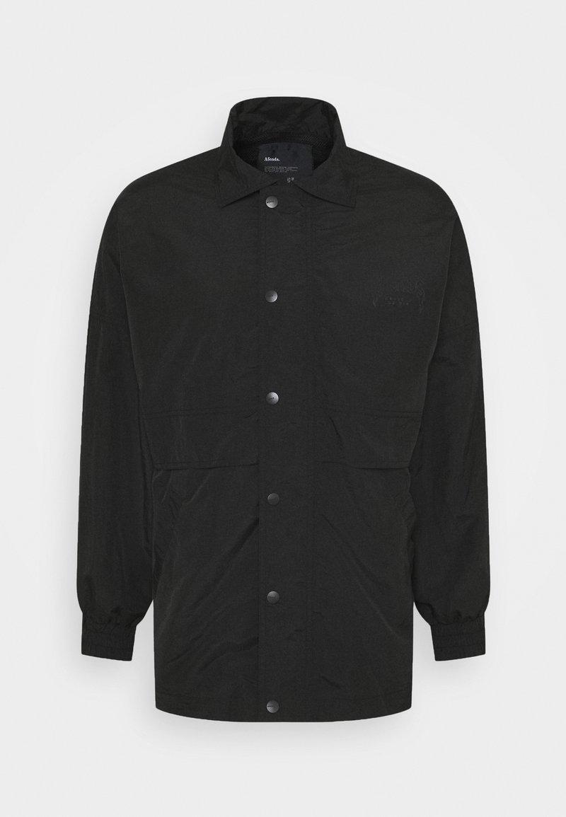 Afends - RECYCLE JACKET UNISEX  - Lehká bunda - black
