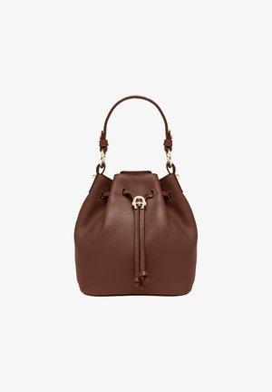 TARA - Handbag - bitter chocolate brown