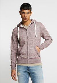 Blend - Zip-up hoodie - wine red - 0