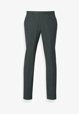 Suit trousers - dark green