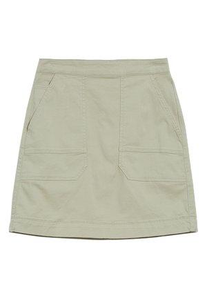 ULMAA - A-line skirt - pistachio