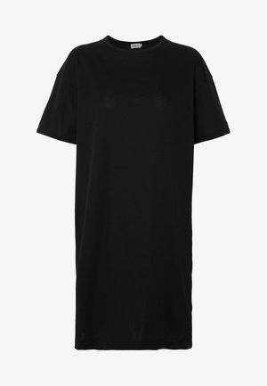 MADDIE DRESS - Žerzejové šaty - black