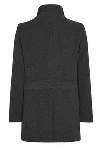 Next - FUNNEL NECK ZIP THROUGH COAT - Short coat - black - 5