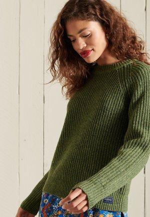 Jumper - olive tweed