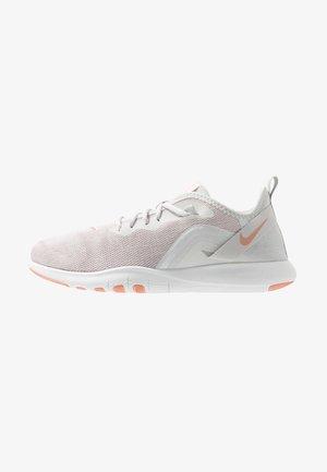 FLEX TRAINER 9 - Sports shoes - vast grey/pink quartz/echo pink/white