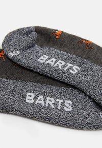 Barts - SKISOCK VINSON UNISEX - Knee high socks - heather grey - 1