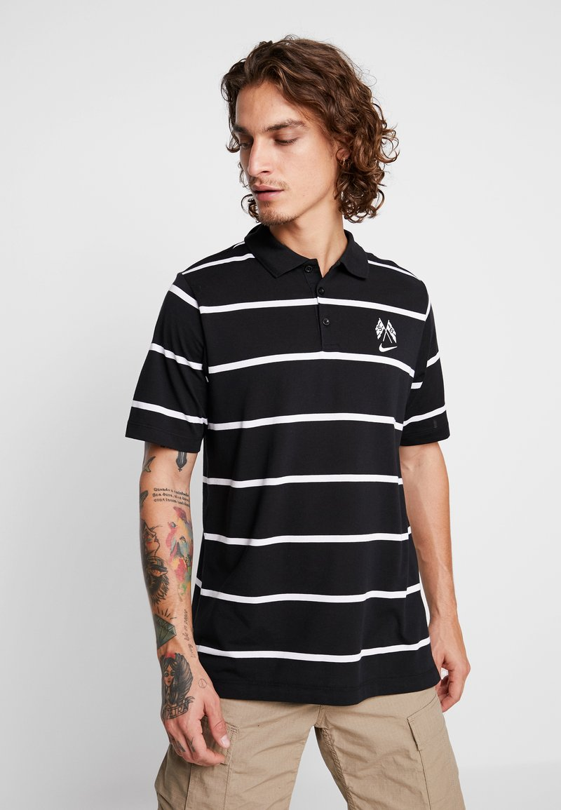 Nike SB - Poloshirt - black/summit white