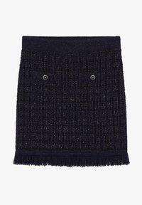 Mango - CHABELI - Mini skirt - dunkles marineblau - 6