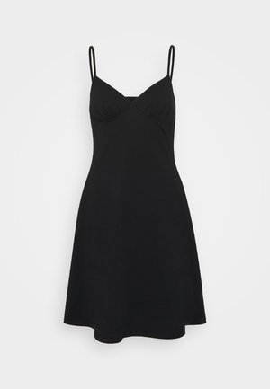 ONLMAIKA STRAP NIGHTWEAR DRESS - Chemise de nuit / Nuisette - black