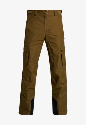 RIDGE RUN PANT - Spodnie narciarskie - olive brown