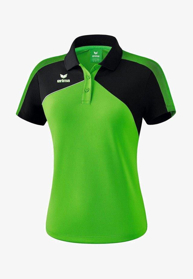 PREMIUM ONE 2.0 POLOSHIRT DAMEN - Polo shirt - grün / schwarz