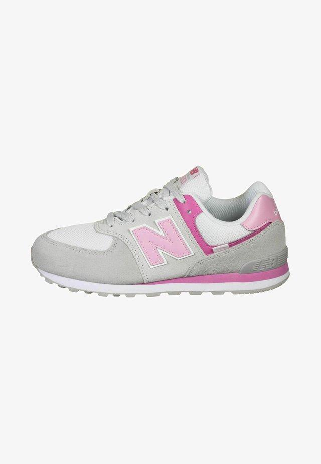Sneakers - grey/pink